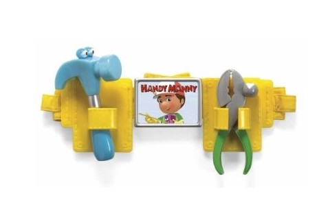 Fisher Price Handy Manny On-The-Job Kids Tool Belt Review